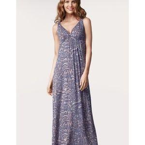 CAbi Patio Maxi Dress #852 size small